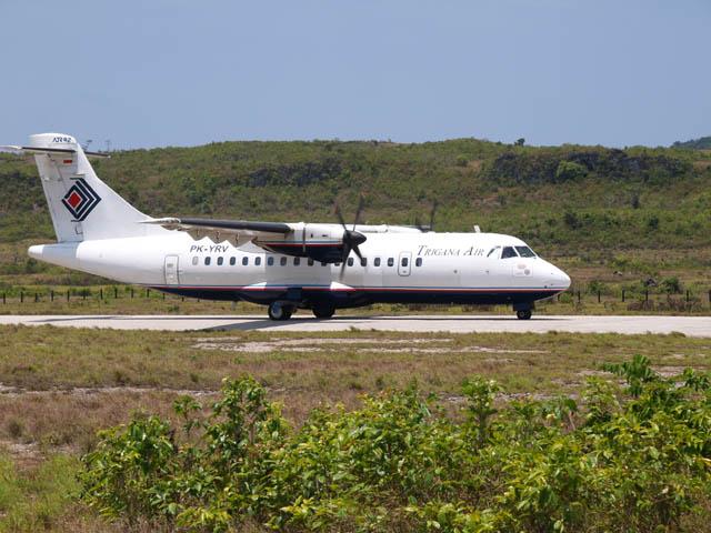 Penerbangan Perdana Jayapura - Nabire